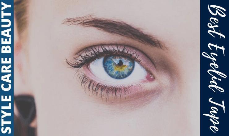 best eyelid tape